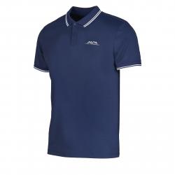 Pánske tréningové polo tričko s krátkym ANTA-SS Tee-3-q119-MEN-Blue dark