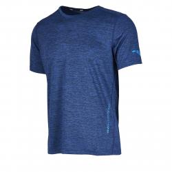 Pánske tréningové tričko s krátkym rukávom ANTA-SS Tee-7-q119-MEN-Blue dark