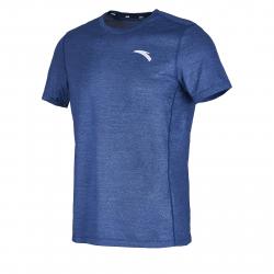 Pánske tréningové tričko s krátkym rukávom ANTA-SS Tee-9-q119-MEN-Blue dark