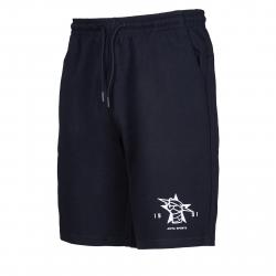 Pánske teplákové kraťasy ANTA-Knit Half Pants-2-q119-MEN-Black