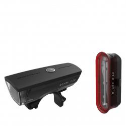 Cyklistické svetlo KROSS-LIGHT SET QUARK SET 2.0 USB