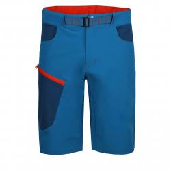 Pánske turistické kraťasy FUNDANGO-Roger-aqua blue