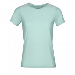 Dámske tréningové tričko s krátkym rukávom FUNDANGO-Serena-tropical green