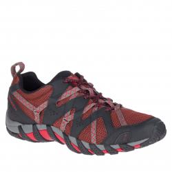 Pánska turistická obuv nízka MERRELL-Waterpro Maipo 2 henna/charcoal