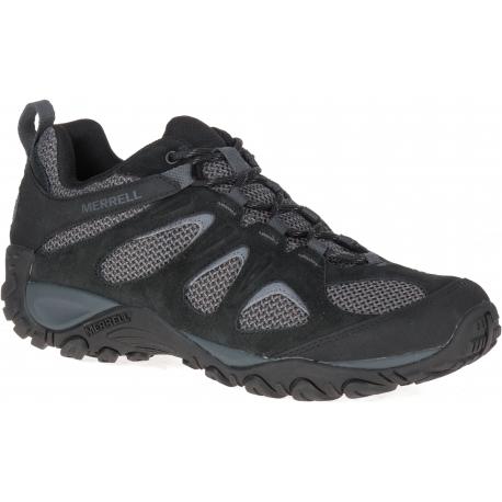 Pánska turistická obuv nízka MERRELL-Yokota 2 black/granite