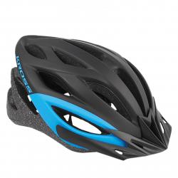 Cyklistická prilba KROSS-HELMET BORAO BLACK BLUE M