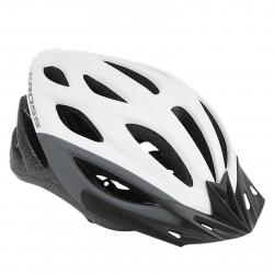 Cyklistická prilba KROSS-HELMET BORAO WHITE GREY L