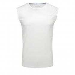 Pánske tričko bez rukávov VOLCANO-T-TANK White