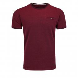 Pánske tričko s krátkym rukávom VOLCANO-T-CALLE Red