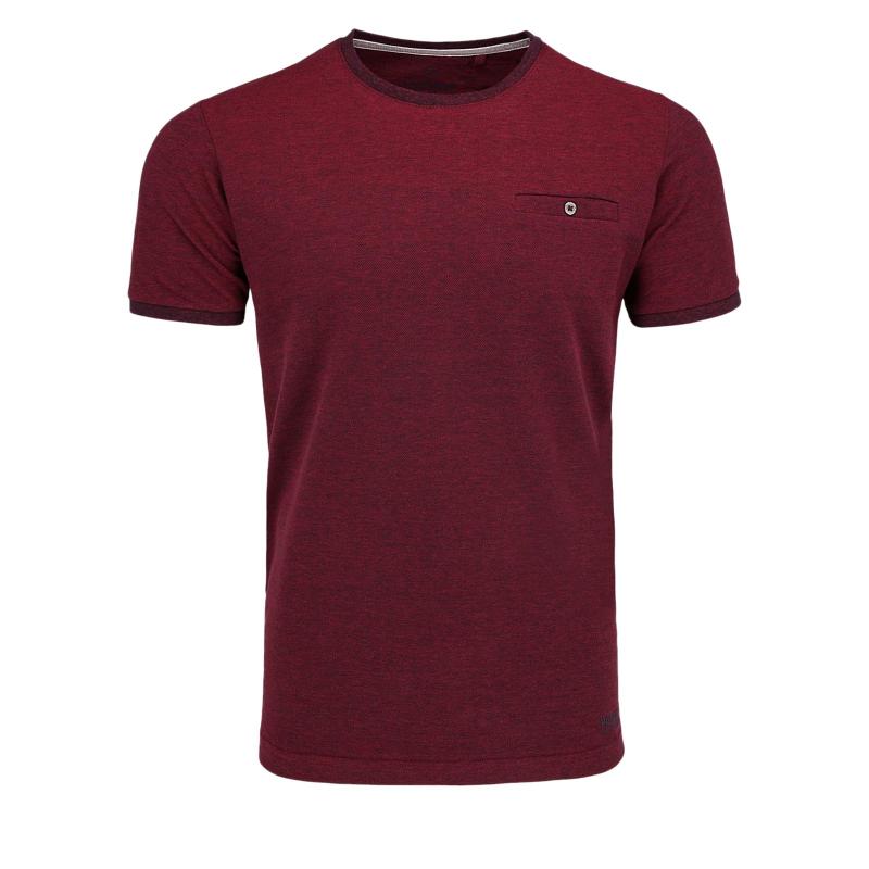 Pánske tričko s krátkym rukávom VOLCANO-T-CALLE Red -