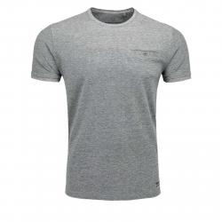 Pánske tričko s krátkym rukávom VOLCANO-T-CALLE Blue