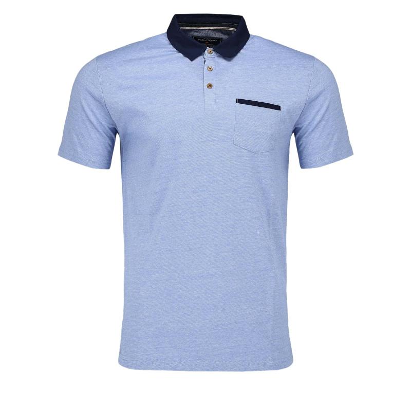 Pánske polo tričko s krátkym rukávom VOLCANO-T-MARCUS -