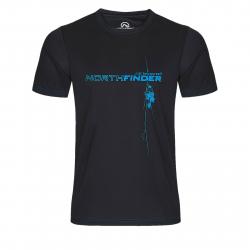 Pánske turistické tričko s krátkym rukáv NORTHFINDER-JACK-black