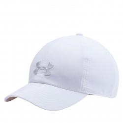 Šiltovka UNDER ARMOUR-WOMENS RENEGADE CAP-WHITE