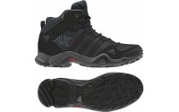 [adidas-AX2 MID GTX/DARK SHALE/BLACK 1/LIGHT SCARLET]