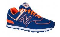 [NEW BALANCE-ML574NEL blue/orange]