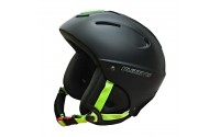 [BLIZZARD-MEGA ski helmet, black matt/neon green]