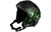 [BLIZZARD-STROKE ski helmet, black/green matt]