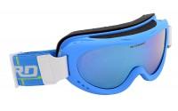 [BLIZZARD-Ski Gog. 907 MDAZO, neon blue matt, amber2, blue]