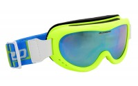 [BLIZZARD-Ski Gog. 907 MDAZO, neon green matt, amber2, blu]
