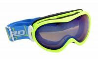 [BLIZZARD-Ski Gog. 919 MDAVZS, neon green matt, amber2, bl]