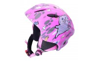 [BLIZZARD-MAGNUM ski helmet, pink cat shiny, size 52-5]