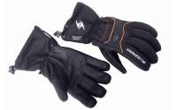 [BLIZZARD-Performance Double ski gloves, black/orange,]