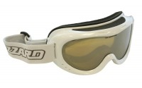 [BLIZZARD-Ski Gog. 907 MDAZPO, white met., honey2, silver]