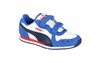 [PUMA-Cabana Racer SL V Kids strong blue-white-peacoat]