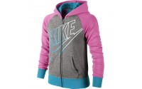 [NIKE-YA76 Semi-Brushed Full-Zip Hoodie]