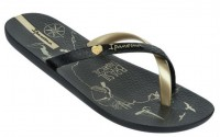 [IPANEMA-Charme Made in Brazil black- gold]