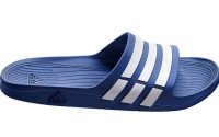[adidas-Duramo Slide/ TRUE BLUE/WHITE/TRUE BLUE]