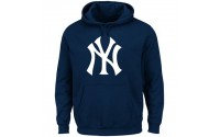 [MAJESTIC-NEW YORK YANKEES BEMBER hoody navy]
