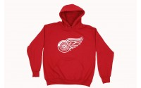 [MAJESTIC-DETROIT RED WINGS BEMBER hoody red]