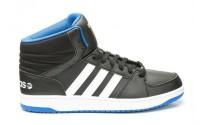 [adidas-HOOPS VS MID CBLACK/FTWWHT/BLUE]