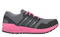 [adidas-ozweego bounce stability w GREY/IRONMT/SOPINK]