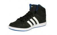 [adidas-HOOPS MID K CBLACK/FTWWHT/BLUE]