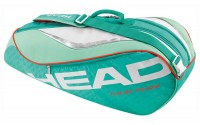 [HEAD-TOUR TEAM COMBI 6R TURQUOISE/CORAL]