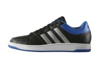 [adidas-HOOPS VS CBLACK/MSILVE/BLUE]
