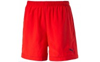 "[PUMA-ESS Woven 5"" Shorts - peacoat red]"