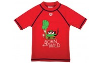 [ARENA- AWT kids boy UV T-shirt red]