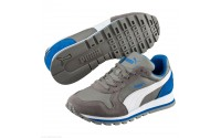 [PUMA-ST Runner L Jr steel gray-white]