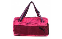 [PUMA-Fundamentals Sports Bag II Fuchsia Purpl]