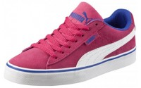 [PUMA-Puma 1948 Vulc Jr rose red-white]