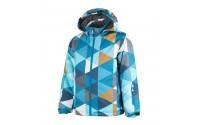 [COLOR KIDS-Rialto padded ski jacket AOP-Blue]