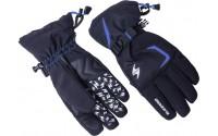 [BLIZZARD- Reflex ski gloves, black/blue]