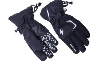 [BLIZZARD- Reflex ski gloves, black/silver]