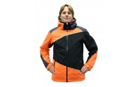 [BLIZZARD-Performance Ski Jacket black/anthracite/orange]