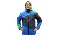 [BLIZZARD-Performance Ski Jacket anthracite/apple green/blue]