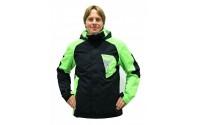 [BLIZZARD-Freemountain Ski Jacket black/lime green]